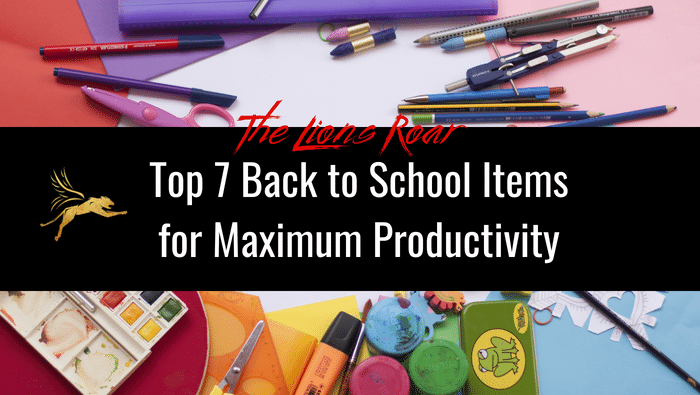 Top 7 Back to School Items for Maximum Productivity