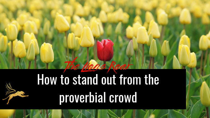 How to Stand Out from the Proverbial Crowd