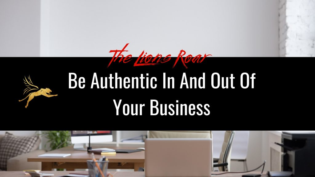 be authentic in business