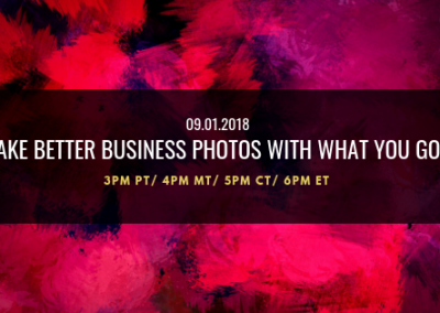 Take Better Business Photos with What You Got