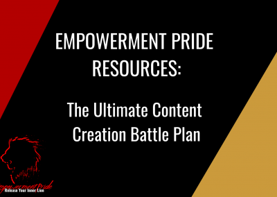 The Ultimate Content Creation Battle Plan