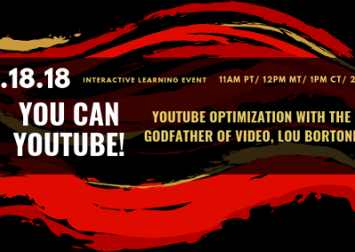 YouTube Optimization with the Godfather of Video