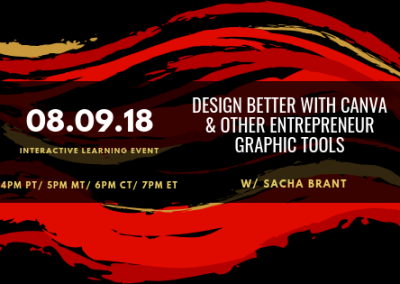 Design Better with Canva & Other Graphic Tools