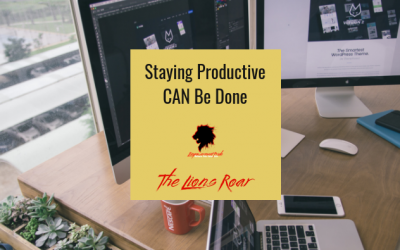 staying productive