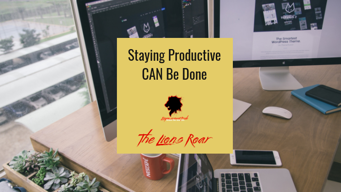 Staying Productive CAN Be Done